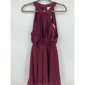 keepsake revolve small dress halter top NEW